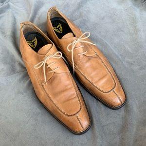 Michael Toschi men dress shoes - cognac